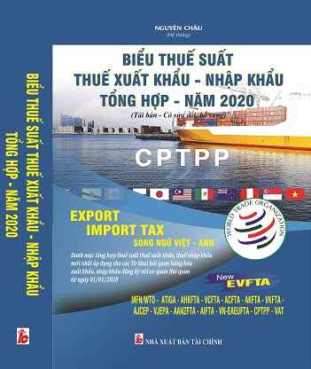 Sách Biểu Thuế Suất - Thuế Xuất Khẩu, Nhập Khẩu Tổng Hợp Năm 2020