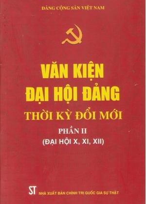 Bộ Sách Văn kiện Đại hội Đảng thời kỳ đổi mới (2 Tập)