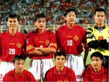 đội hình xuất sắc nhất lịch sử của đội tuyển bóng đá việt nam