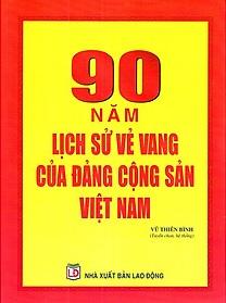 sách 90 năm lịch sử vẻ vang của Đảng Cộng sản Việt Nam