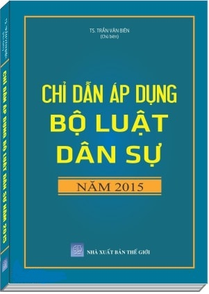 Sách Chỉ dẫn áp dụng Bộ luật dân sự năm 2015