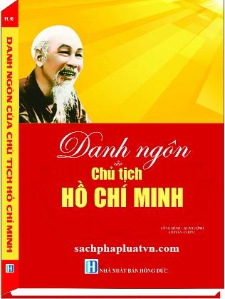 Sách Danh Ngôn Của Chủ Tịch Hồ Chí Minh