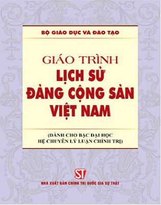 Sách Giáo trình Lịch sử Đảng Cộng sản Việt Nam