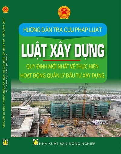 Sách Hướng Dẫn Tra Cứu Pháp Luật Về Luật Xây Dựng