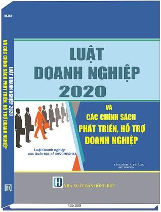 Sách Luật Doanh Nghiệp 2020 Và Các Chính Sách Phát Triển, Hỗ Trợ Doanh Nghiệp