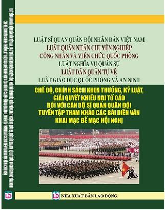 Sách Luật Nghĩa Vụ Quân Sự - Luật Dân Quân Tự Vệ, Luật Giáo Dục Quốc Phòng Và An Ninh
